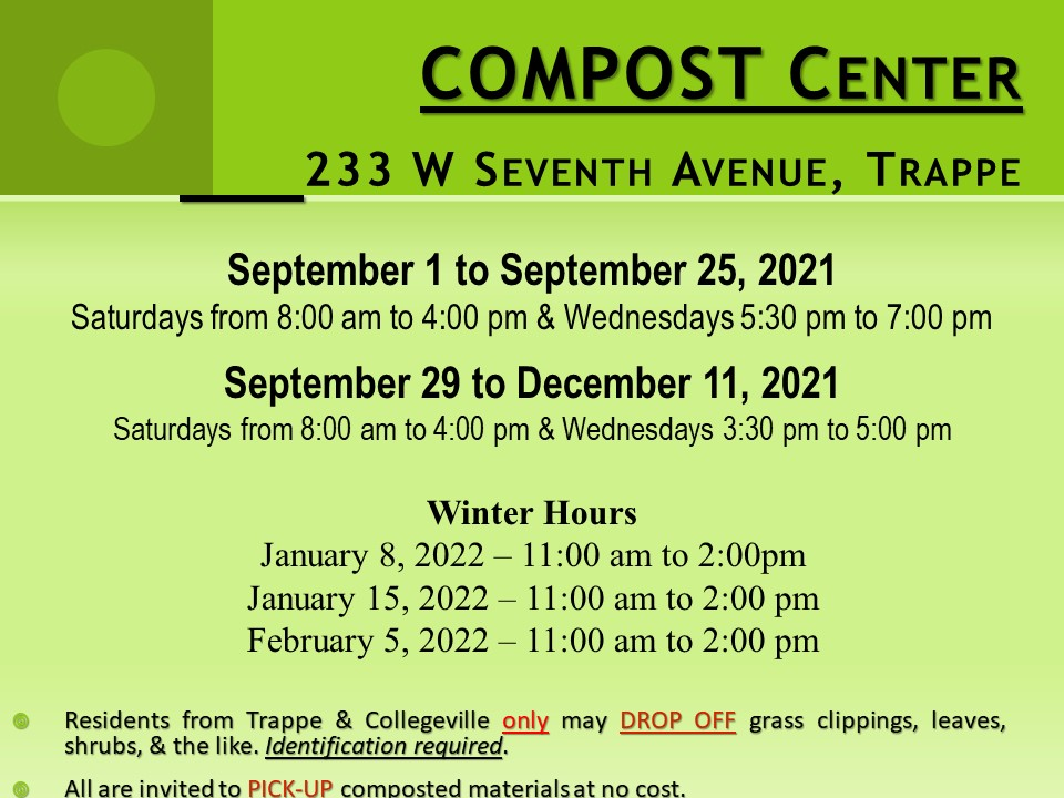 Compost Fall 2021