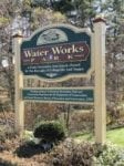 Water Works Park Sign