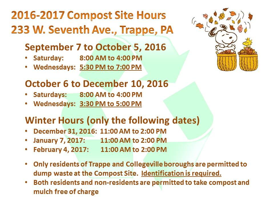 trappe-compost-site-information