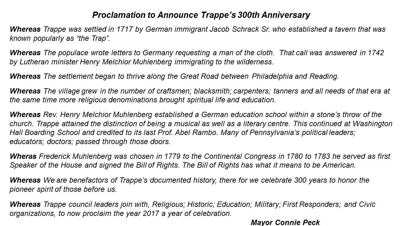 Proclamation Trappe 300 v2