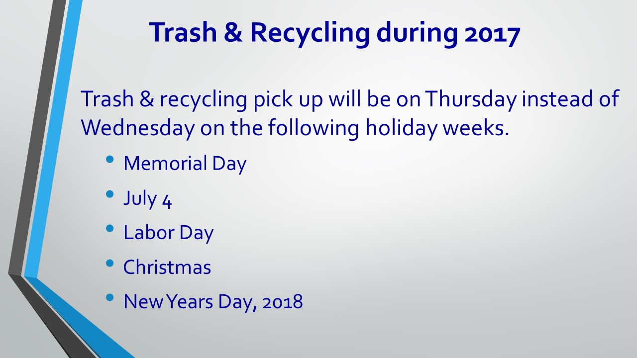 Trash & Recycling over the Holidays 2017 [Autosaved]