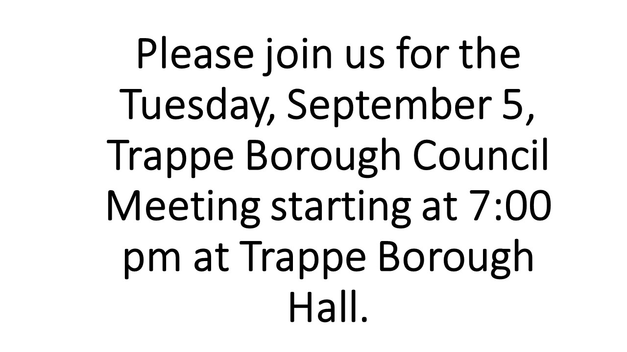 Please join us for the Tuesday, September