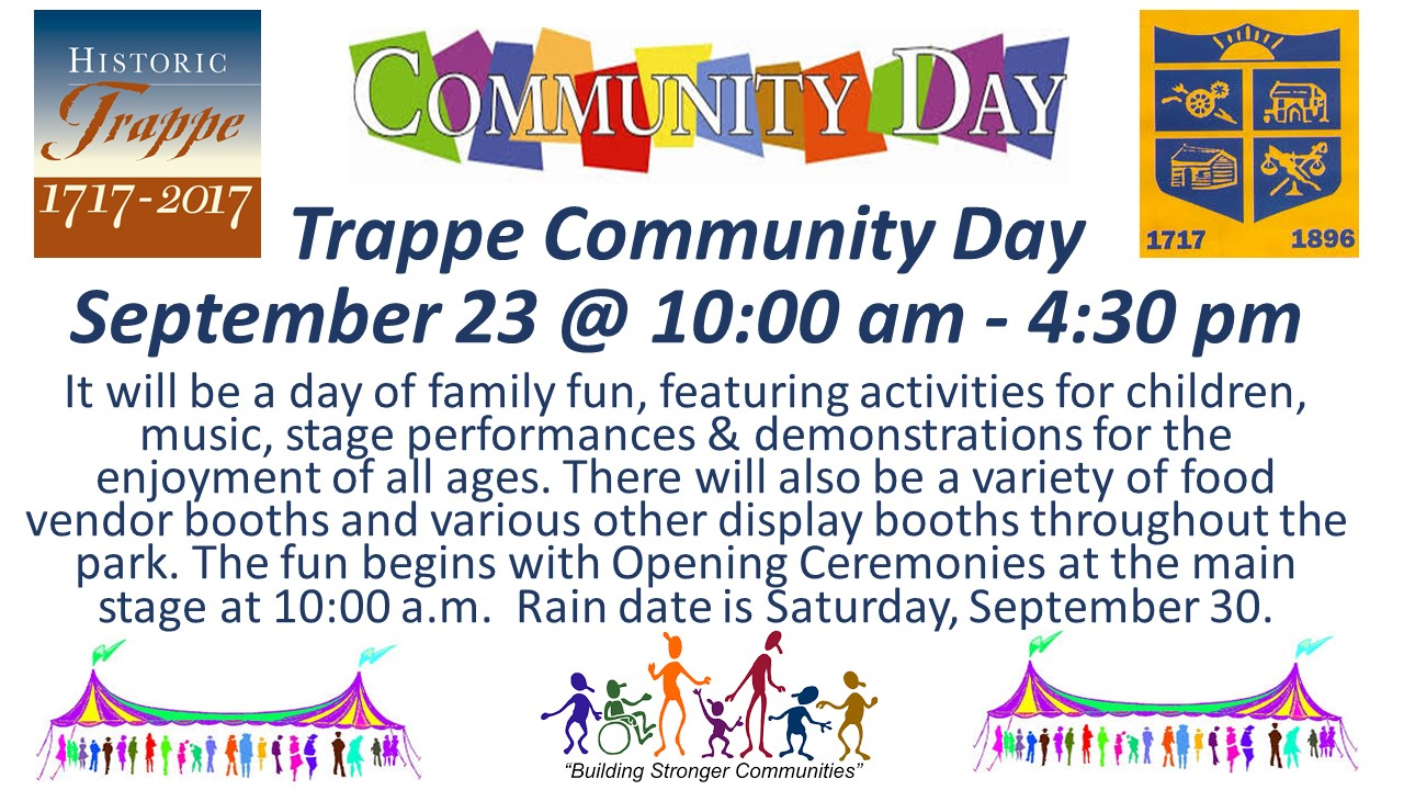 2017 Trappe Community Day