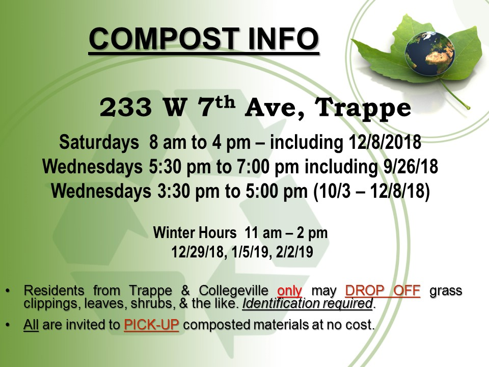 Compost Fall & Winter 2018