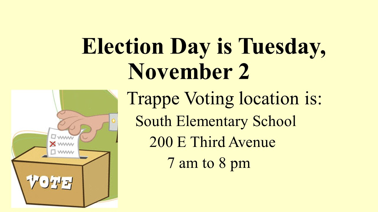 Election Day 11-2
