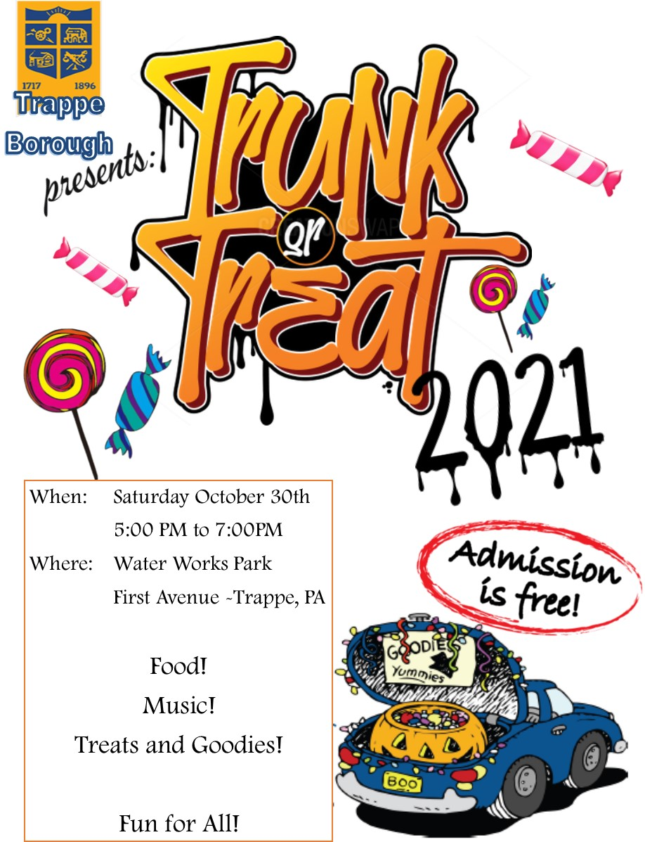 Truck or Treat Flyer